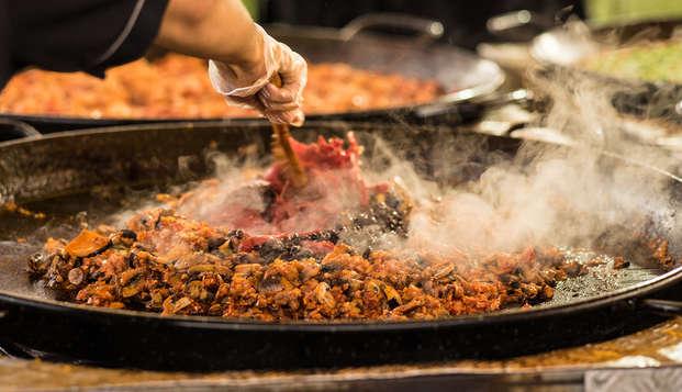 Évasion dans un 4* avec visite guidée et une dégustation de paella valencienne
