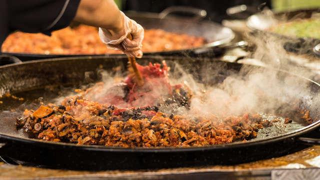 Un mélange de culture, paella et spa dans un hôtel d'avant-garde à Valence.