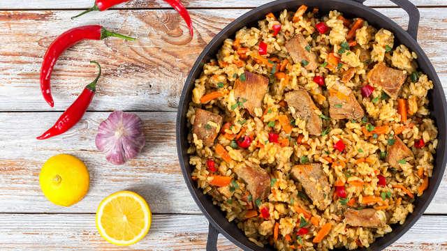Escapada gastronómica y cultural con comida menú paella y bebida incluida