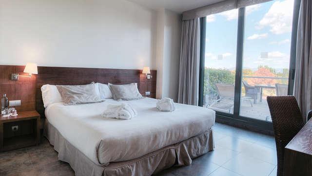 Escapade exclusive : chambre avec vue et demi-pension près de Barcelone