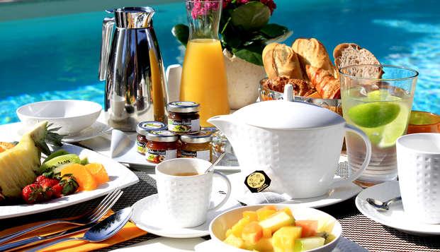 Domaine de l Oriu - breakfast