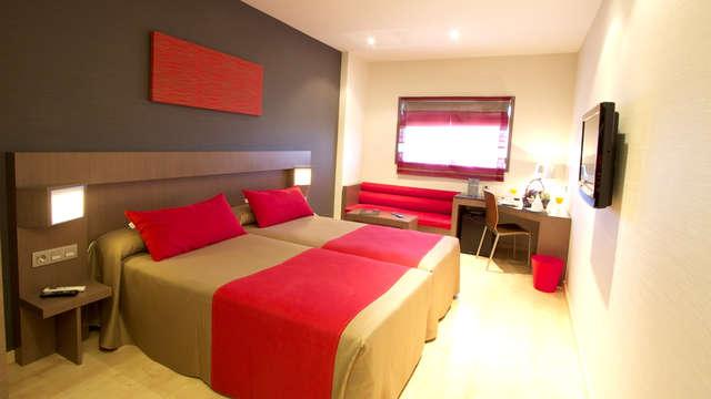 3 overnachtingen in een standaard tweepersoons kamer met stadszicht voor 2 volwassenen