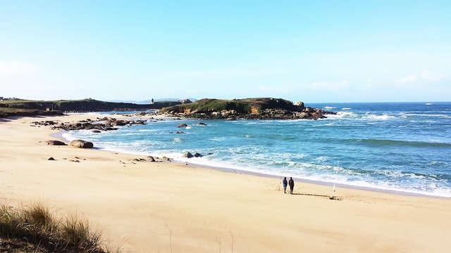 Escapada en familia en un entorno tranquilo junto al mar de A Lanzada