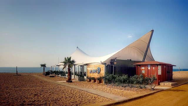 Relájate mediterráneamente con cena en Calella