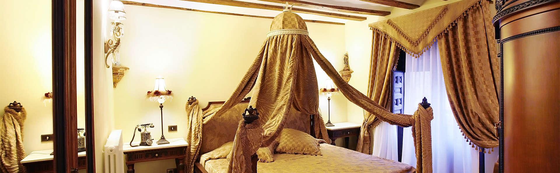 Escapada en habitación con Jacuzzi entre viñedos y Monasterios