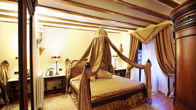 Lujo y encanto en un palacete riojano con jacuzzi en la habitación y toque romántico