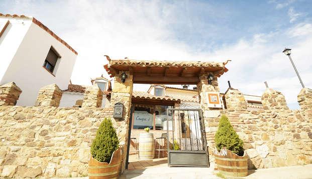 Escapada en Soria con vistas a Numancia y al monte Valonsadero (no reembolsable)
