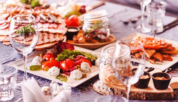 Gastronomisch diner in de buurt van Pamplona