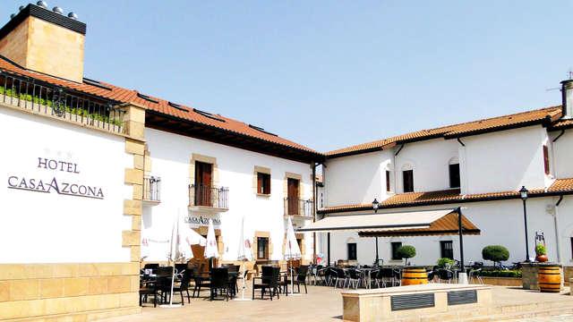 Escapada cerca de Pamplona en habitación superior en una antigua casa solariega (desde 2 noches)
