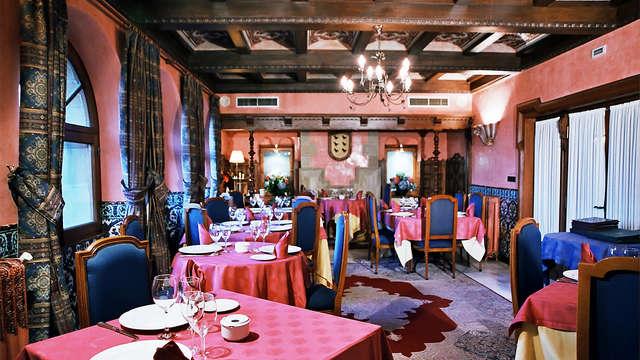 Escapada con Cena típica en un Castillo de la Rioja Alavesa
