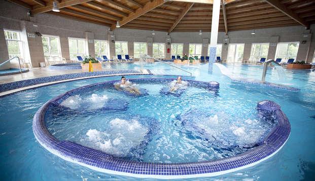 Week-end reposant dans la plus grande station thermale de luxe de Galice