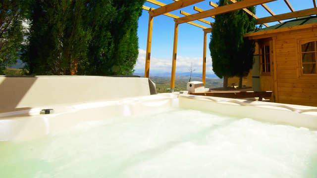 Week-end détente avec spa privé à la Sierra de las Nieves