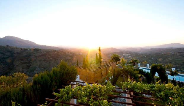 Escápate a este Hotel Rural 3* en la Sierra de las Nieves