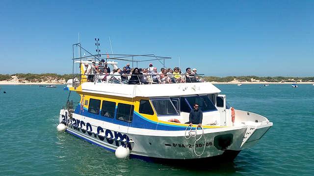 Escapada en un lujoso apartamento con excursión en barco a un paso de la playa La Barrosa