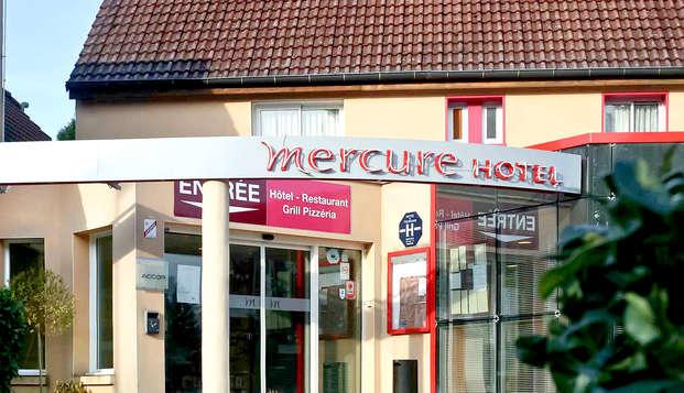 Mercure Hexagone Luxeuil - Front