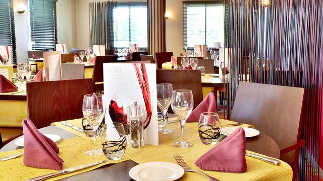 Dîner ou déjeuner au cœur des Vosges, à Luxeuil-les-Bains