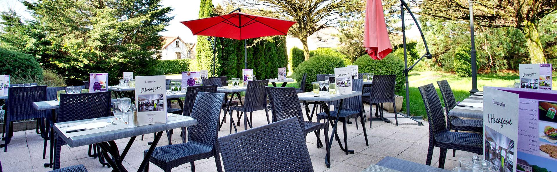 Dîner ou déjeuner au cœur des Vosges, à Luxeuil-les-Bains (à partir de 2 nuits)