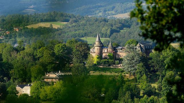 Parenthèse romantique avec champagne dans un château au cœur du Limousin