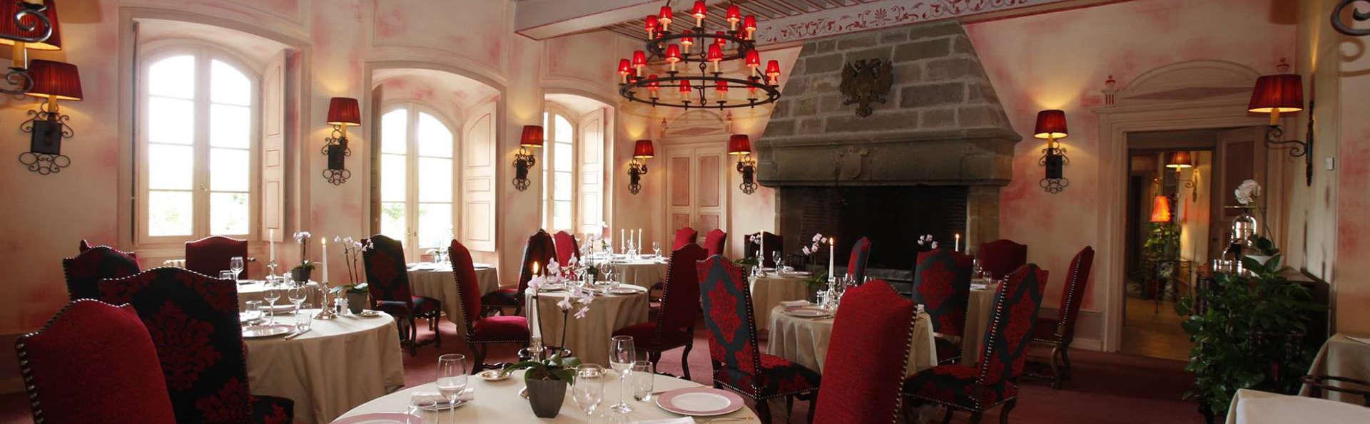 Élégance et dîner gastronomique 3 plats au cœur du Limousin