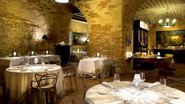 Soggiorno con cena degustazione nell'incantevole Castello Chiola a Loreto Aprutino