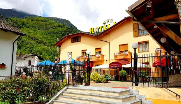 Tutto incluso nelle Alpi: notte, cena e Spa a Sestriere!