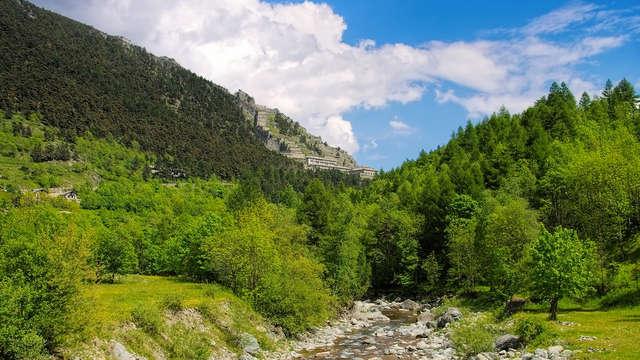 Benessere e relax tra le Alpi: notte con Spa inclusa a Sestriere!