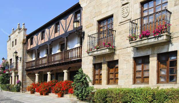 Escapada de lujo en un moderno hotel con encanto en Suances