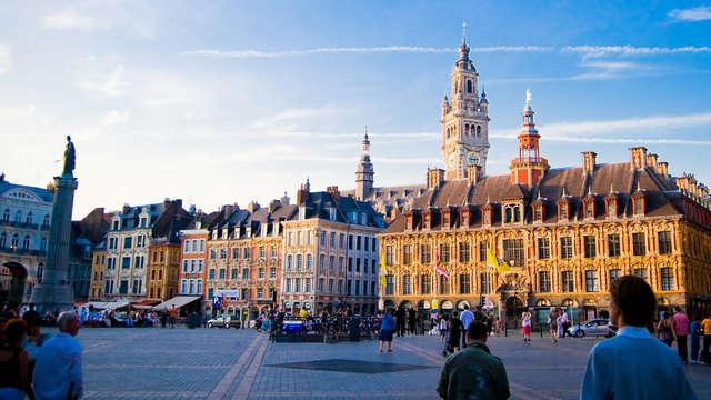 Séjour élégant et découverte de la capitale des Flandres