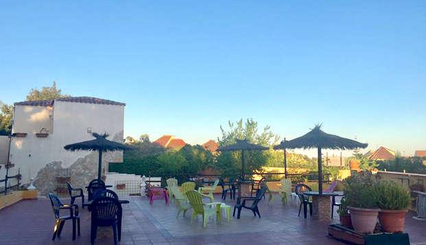 Hotel Cruz de Gracia - terrace