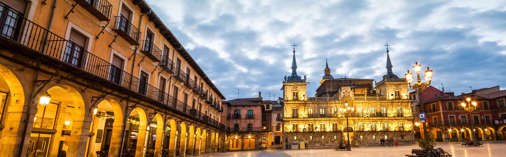 Romantisme avec accès au spa et dîner à León