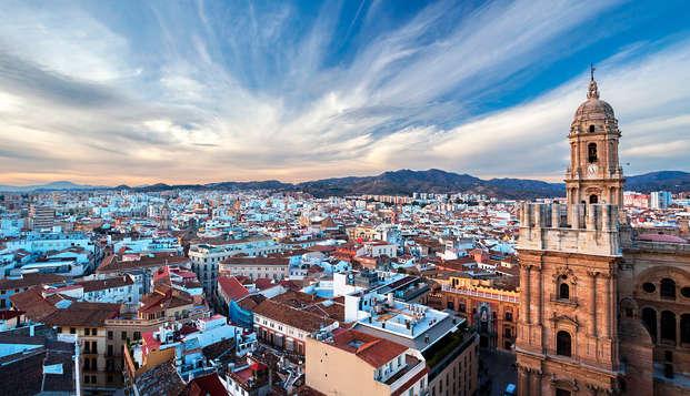 Escapada boutique en pleno centro de Málaga