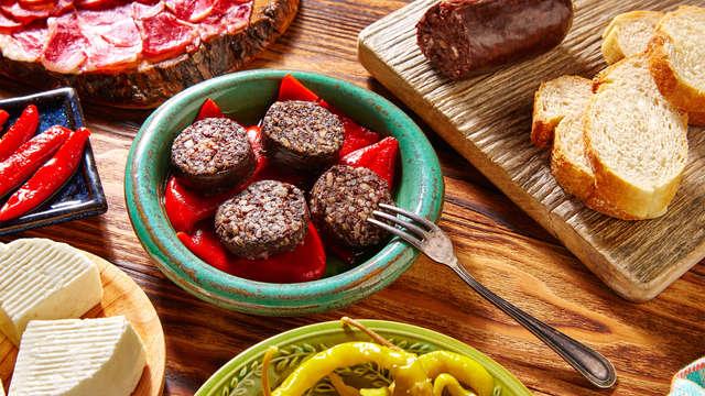 Encanto y gastronomía en pleno Valle del Mena con cena típica regional y vino