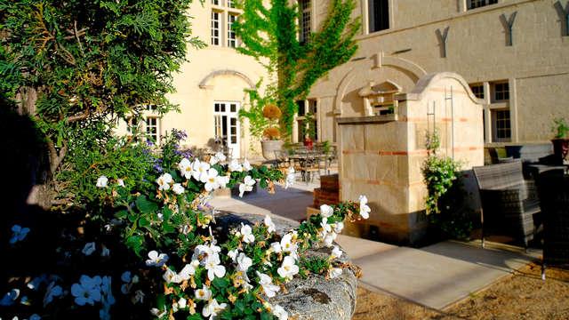 Douceur de vivre dans un château aux portes de Nîmes