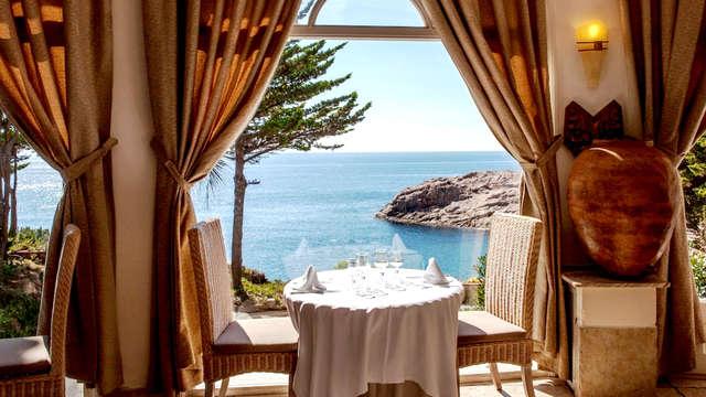 Pensión competa con acceso a Spa en habitación superior con vistas al Mar