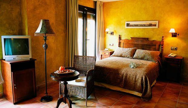 Escapada romántica en un hotel con encanto al lado del Parque Natural de Daimiel