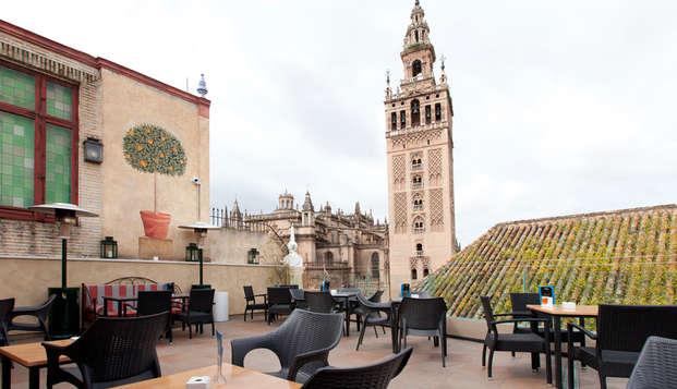 Hotel Dona Maria - terrace
