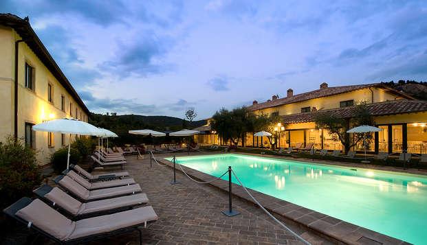 Relax con degustazione e accesso spa a Perugia