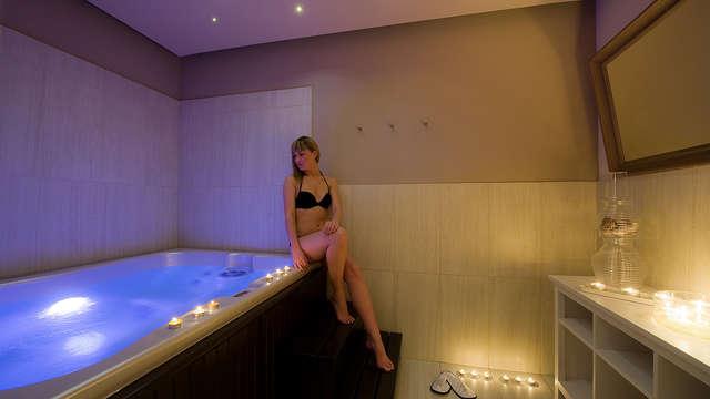 Week-end détente et dégustation : séjour avec visite des caves et accès au spa