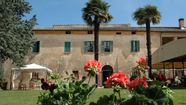 Soggiorno in un antico casale alle porte di Perugia
