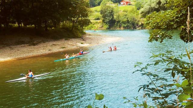 Weekend met afdaling van een rivier in Ribadesella