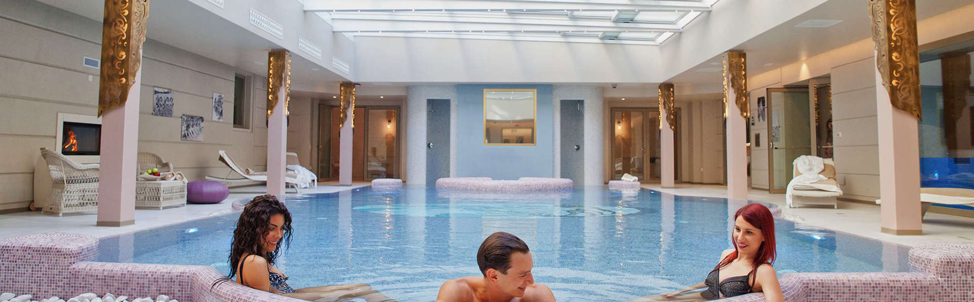 Relax y bienestar en 5* con spa en Salsomaggiore