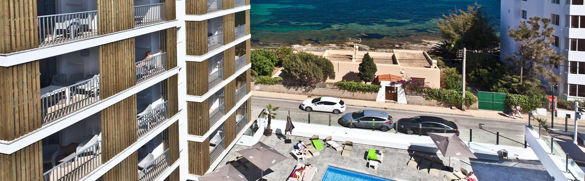 En plein cœur d'Ibiza dans un appartement avec vue sur la mer