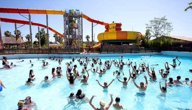 Week-end divertissant avec entrées au parc Aquasplash