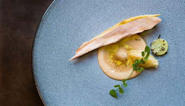 Culinair 5-gangendiner in luxe designhotel op de Veluwe