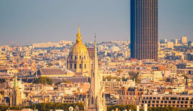 Parigi vista dall'alto con visita della torre di Montparnasse