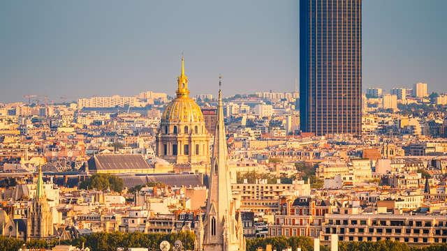 Week-end découverte de Paris avec panorama du haut de la tour Montparnasse