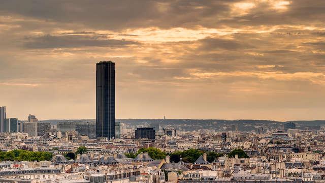 ¡No te pierdas las vistas panorámicas de la Ciudad de la Luz desde de la Torre Montparnasse!
