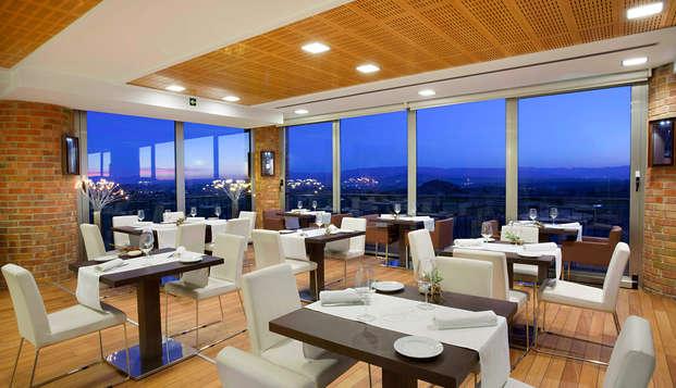 Escapada con Cena y Visita a bodega  en un hotel de autor en La Rioja Alavesa