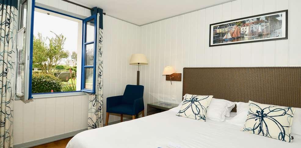Week end bien tre belle ile en mer avec acc s au spa pour for Appart hotel bretagne sud
