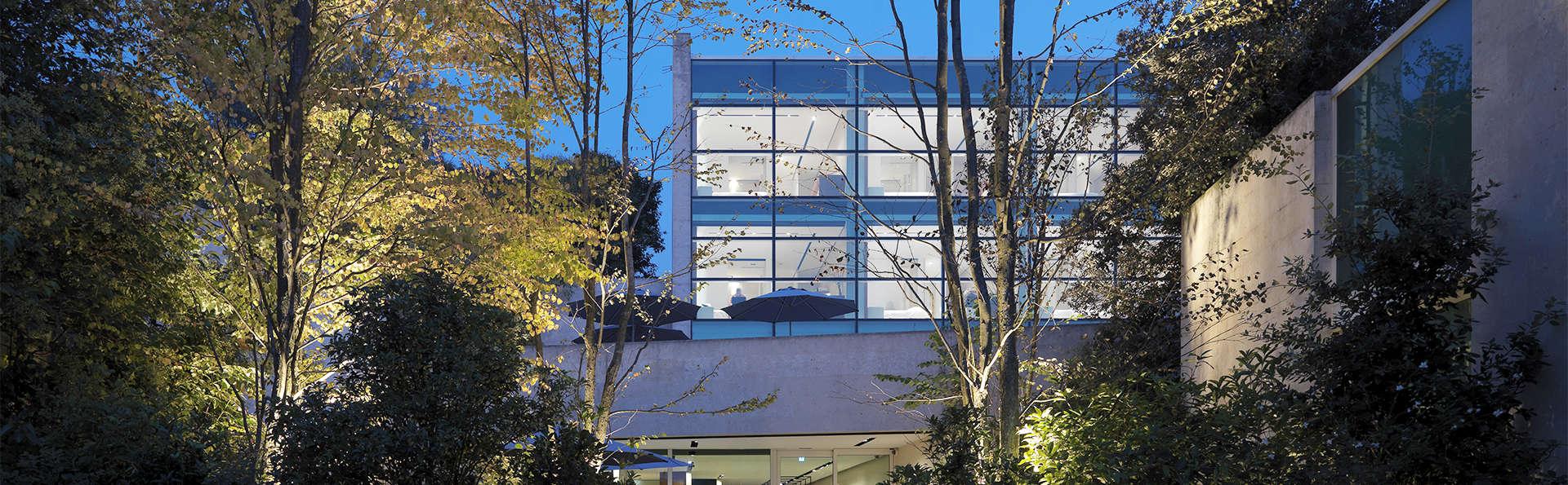 Hôtel au design minimaliste en Brianza
